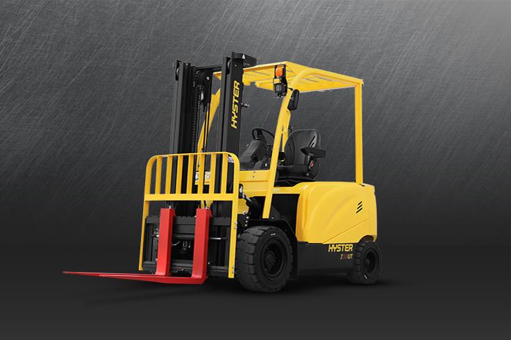 4 Wheel Electric Forklift Trucks