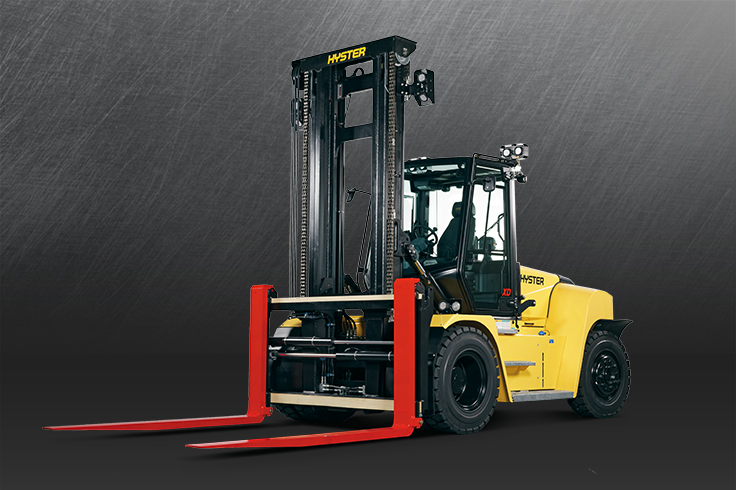 High Capacity Internal Combustion Forklift Trucks, Pneumatic Tyre