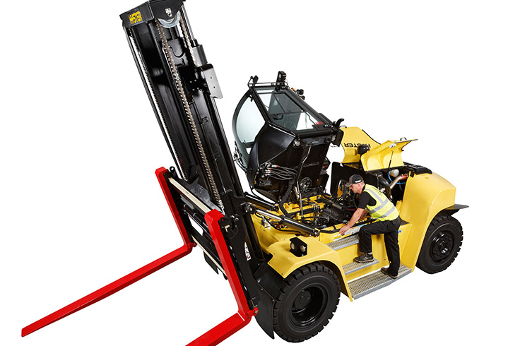 H190-280XD High Capacity Forklift Truck