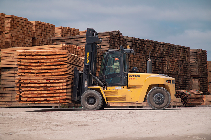 Hyster H360HD2 High Capacity Forklift