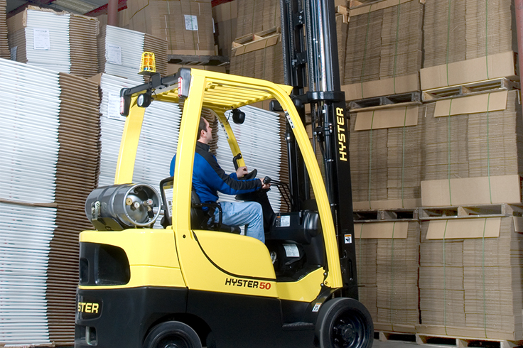 Hyster S50CT2 Cushion Tire Forklift
