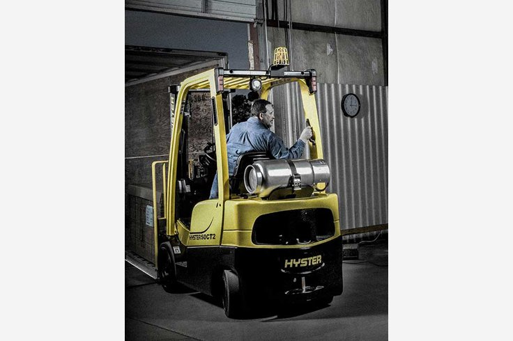 Hyster S50CT2 Cushion Tire Forkllift