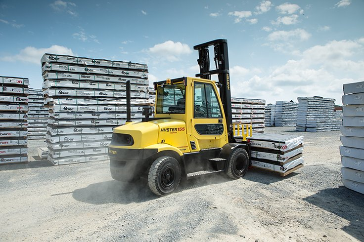 Hyster H135-155FT IC Pneumatic Tire Forklift