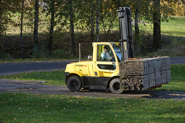 Hyster H170-180FT ICE Pneumatic Tire Forklift