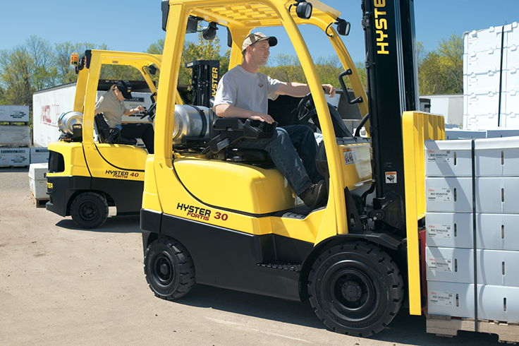 Hyster H30-40FTS IC Pneumatic Tire Forklift