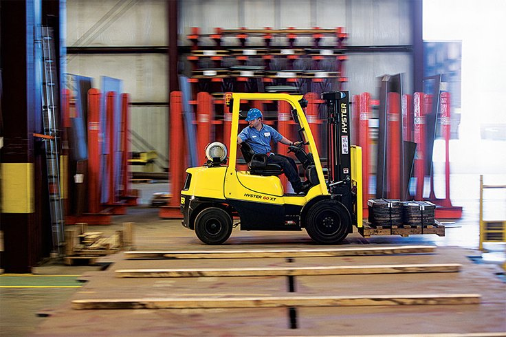 Hyster H40-60XT ICE  Pneumatic Tire Forklift