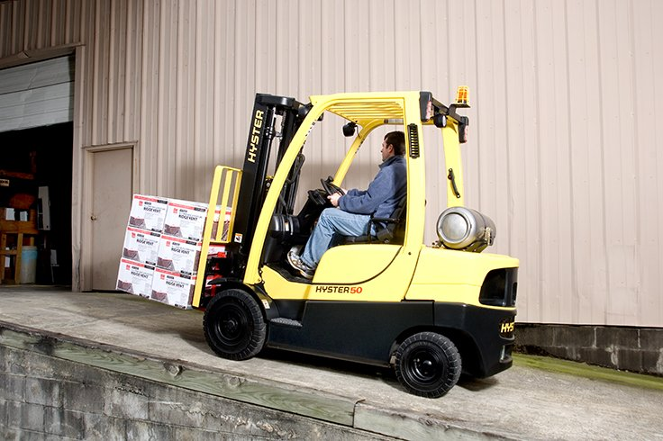 Hyster H40-70FT ICE Pneumatic Tire Forklift