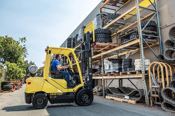 H40-70UT IC Pneumatic Tire Forklift
