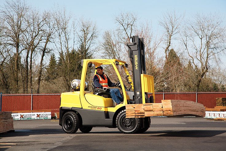 Hyster H80-120FT ICE Pneumatic Tire Forklift